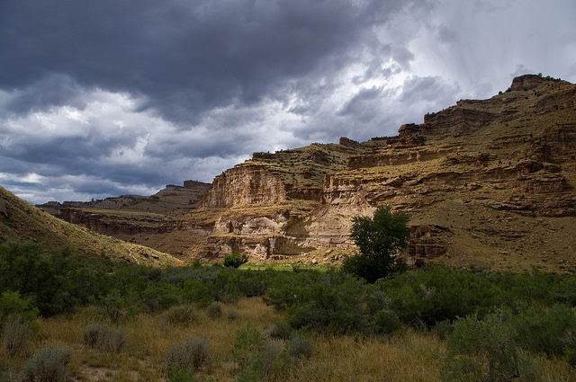 Nine Mile Canyon is protected by the Antiquities Act. Photo Credit
