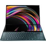 ASUS ZenBook Pro Duo UX581GV XB94T 15.6″ Notebook - Core i9 9980HK 2.4 GHz - 32 GB RAM - 1 TB SSD - Celestial Blue