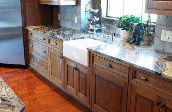 Custom Kitchen Cabinets - Hinrichs Fine Woods - Lincoln ...