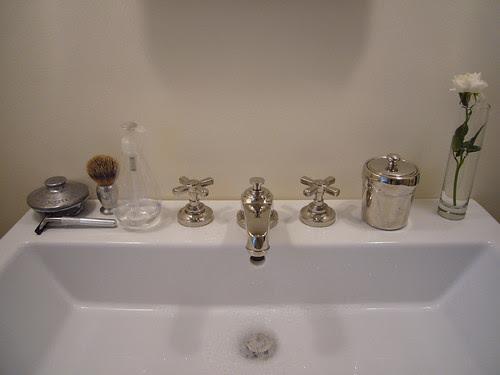 stuff on the sink