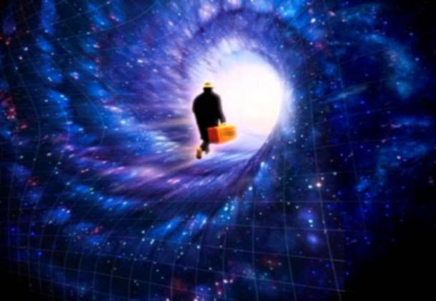 Going to a different dimension.