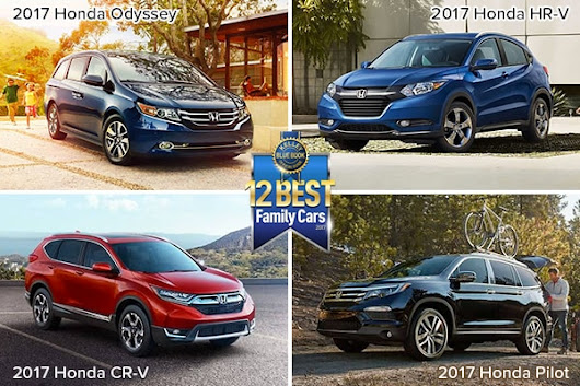 Victory Honda | Honda SUVs dominate Kelley Blue Book's Best Family Cars of 2017 list