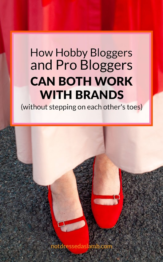 How Hobby Bloggers and Pro Bloggers Can Both Work With Brands