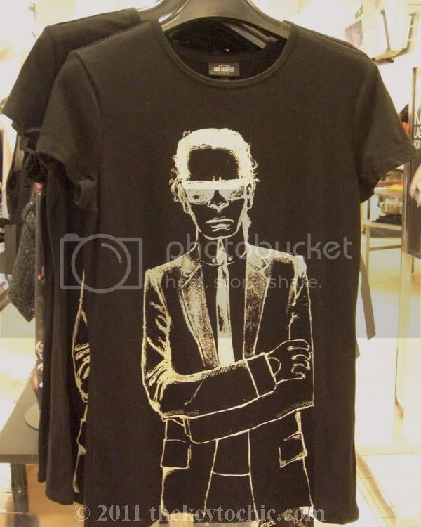 Karl Lagerfeld for Imulse Macy's T-shirt