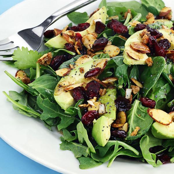 spinach and avocado salad recipe