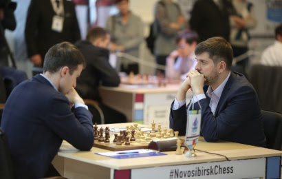 Russian Superfinal 1: Svidler starts in style