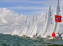 Etchells Nationals- sailing Biscayne Bay, Miami, FL