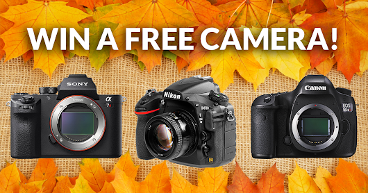WIN YOUR CHOICE: Canon 5DS R, Nikon D810, or Sony a7R II