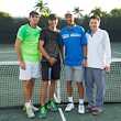 Blake, Krickstein and Arias Played to the Crowd at St. Andrews Country Club Tennis Exhibition