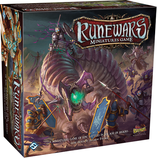 Review - Upcoming game from Fantasy Flight; RuneWars: The Miniatures Game