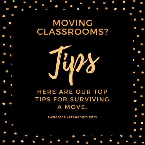 Tips to survive a classroom move