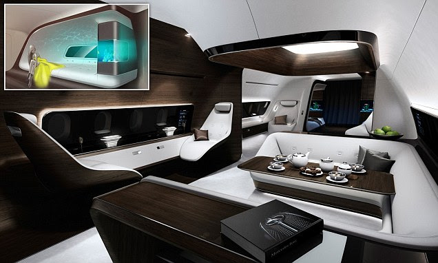 Mercedes-Benz and Lufthansa Technik have created the ultimate VIP aircraft design