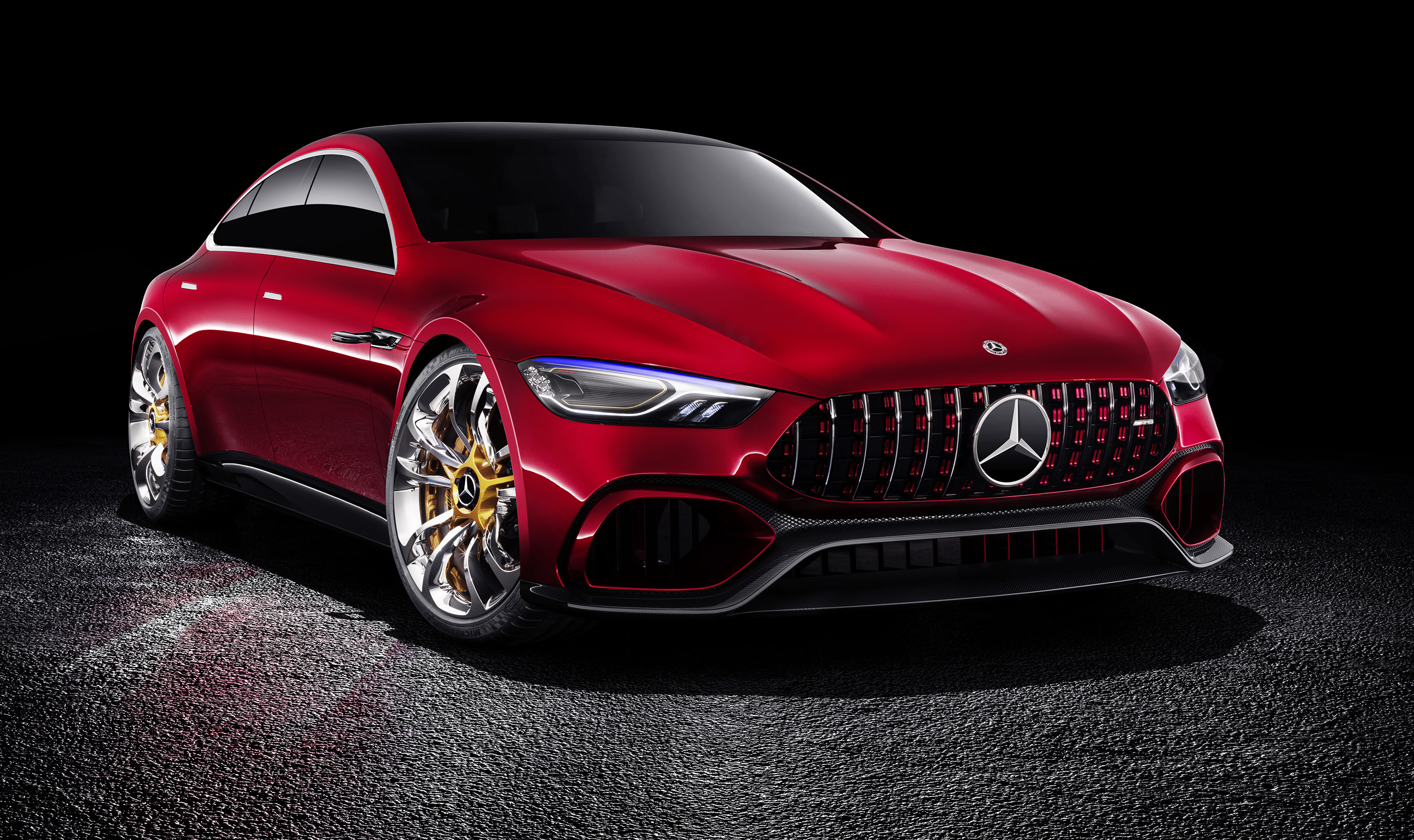 Mercedes-AMG GT four-door concept revealed - Photos (1 of 17)