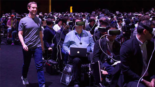 How Facebook plans to dominate virtual reality in real life
