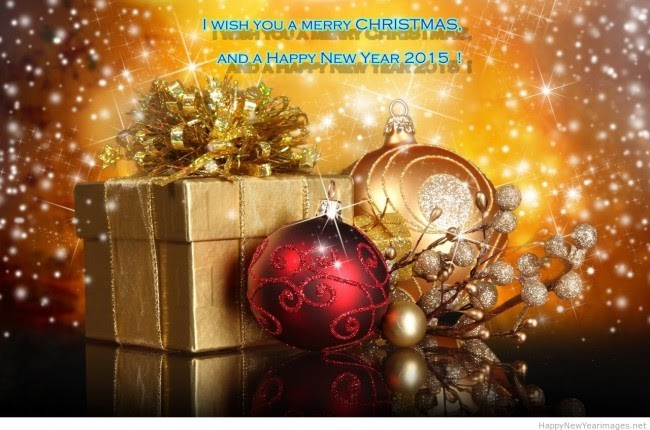 Merry Christmas And Happy New Year Greeting Cards Designs