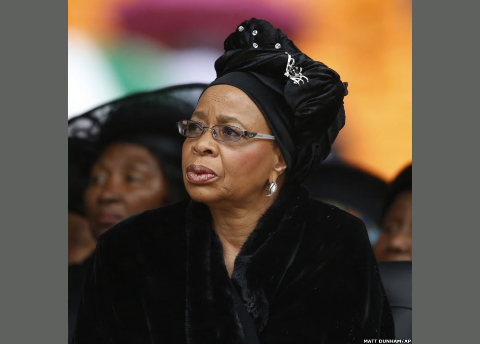 Graca Machel listens to speakers