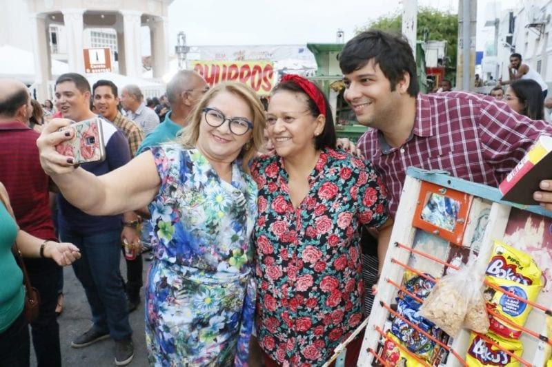Resultado de imagem para fatima e o prefeito de Currais Novos, Odon Junior