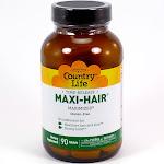 Country Life Maxi-Hair 90 Tablets Maxi Hair Skin Nails