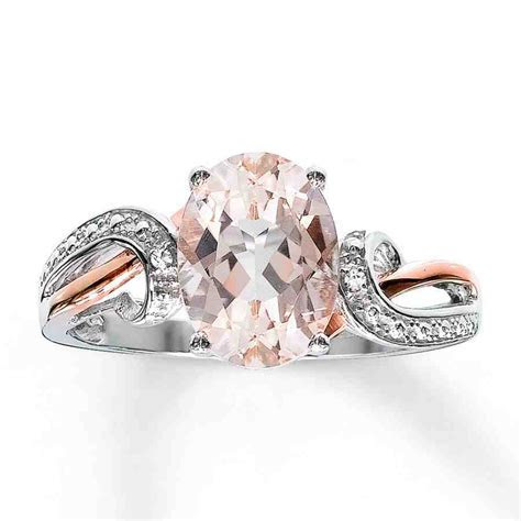 Rose Gold And Silver Engagement Rings   Wedding and Bridal