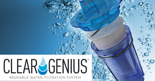 CLICK HERE to support Clear Genius: World's First Reusable Water Filter