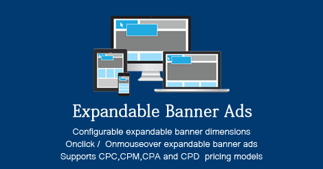 Expandable Banner Ads Addon for XYZ Admarket released - XYZScripts Blog