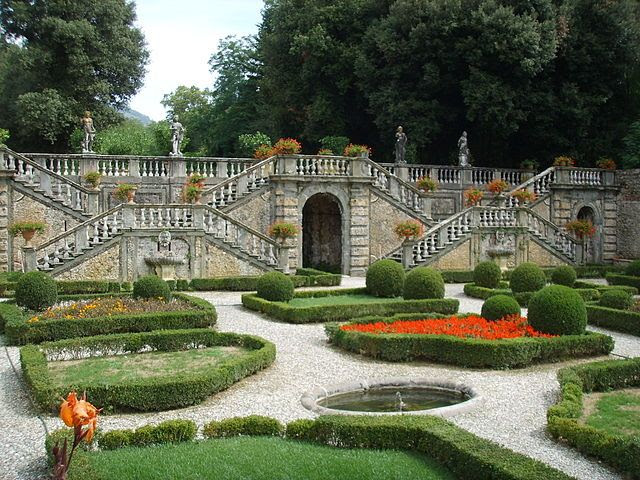 Grotto entrance, Villa Torrigiani