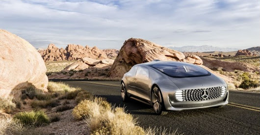 Is Mercedes-Benz F 015 Luxury in Motion Concept The Future of Mobility?