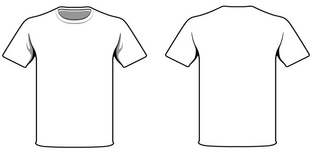 Terbaru 21+ Sketsa Kaos Polos Putih