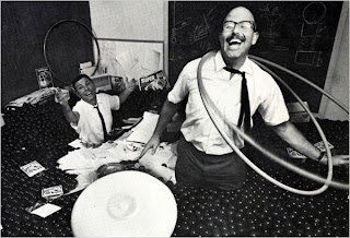 Richard Knerr who successfully produced and marketed the Hula Hoop
