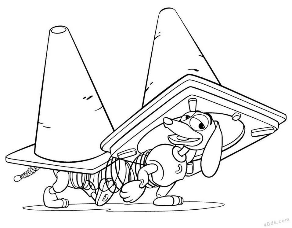 40dkcom çılgın Köpek Boyama Sayfası 365 40dk Eğitim Bilim