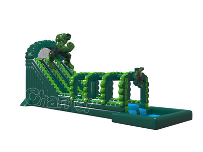 The Hulk Inflatable Water Slide - Channal Inflatables