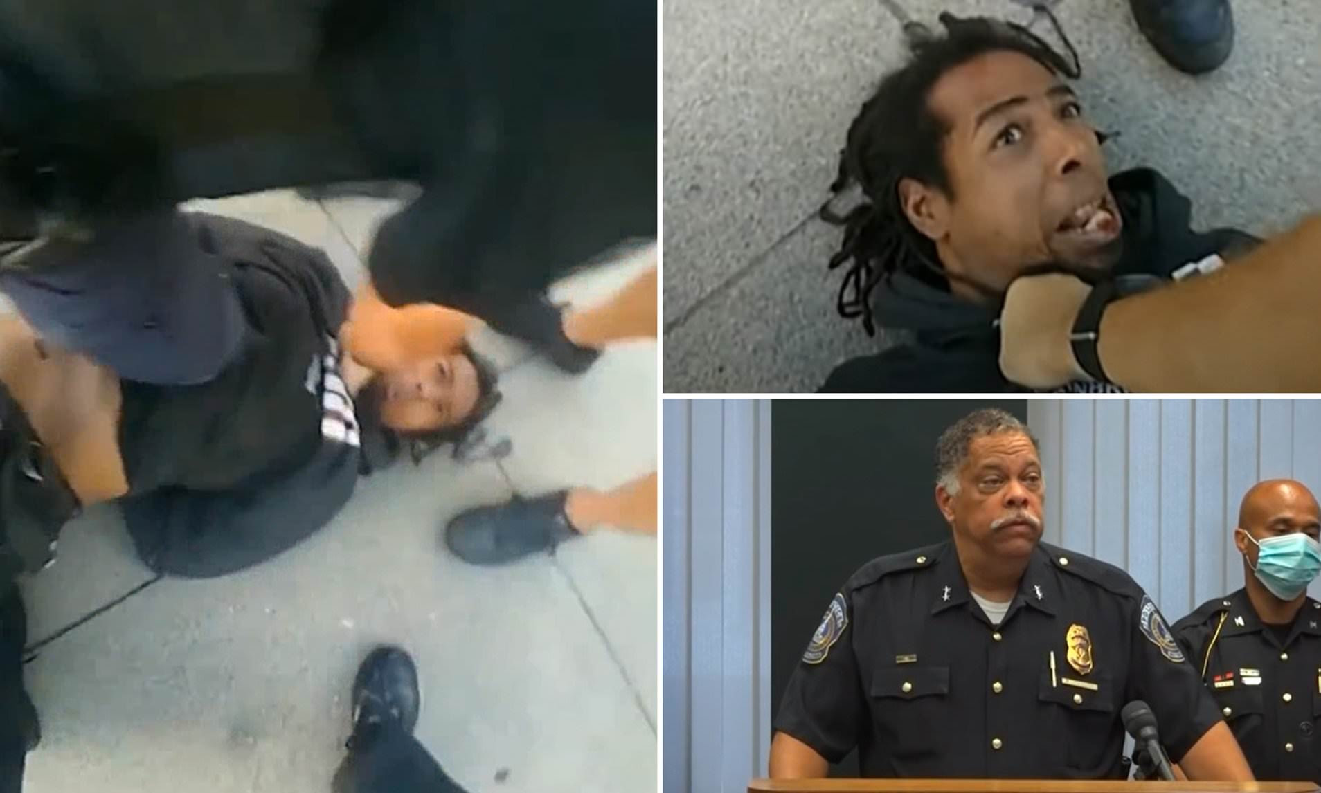 Indiana cop faces criminal charges after STOMPING on man's face