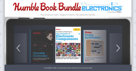 Humble Book Bundle: Electronics Presented by Make: