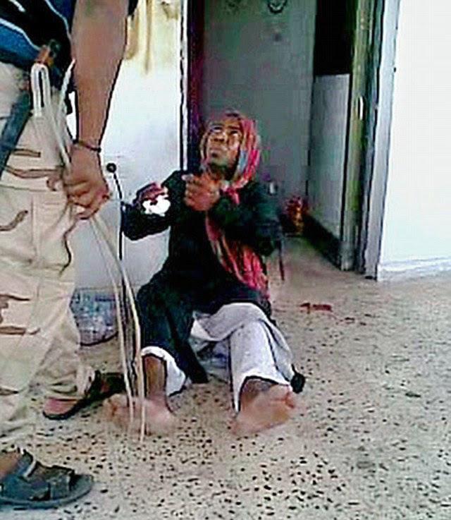Víctima: El hombre que está siendo torturado en el video era Saleh Barhoun Gersh, quien había dirigido un almacén general en Towerga