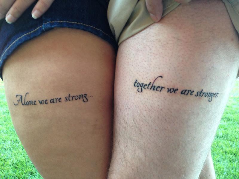 Tatuagens Casal Frases Em Portugues Frases E Mensagens Em