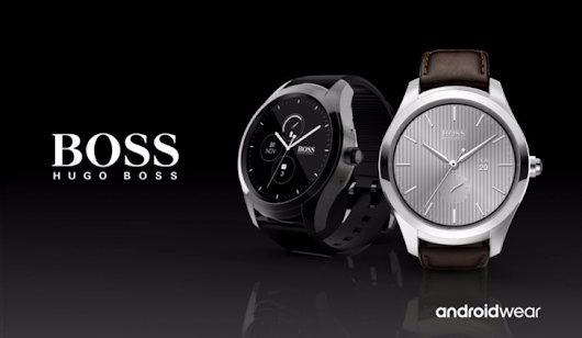 Hugo Boss reveals its first Android Wear watch, the Touch