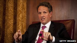 Timothy Geithner. Photo: 17 May 2011