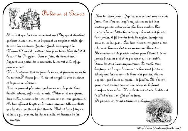 BBBBBBBBBBBBBBBgrosse cartes Philémon et Baucis