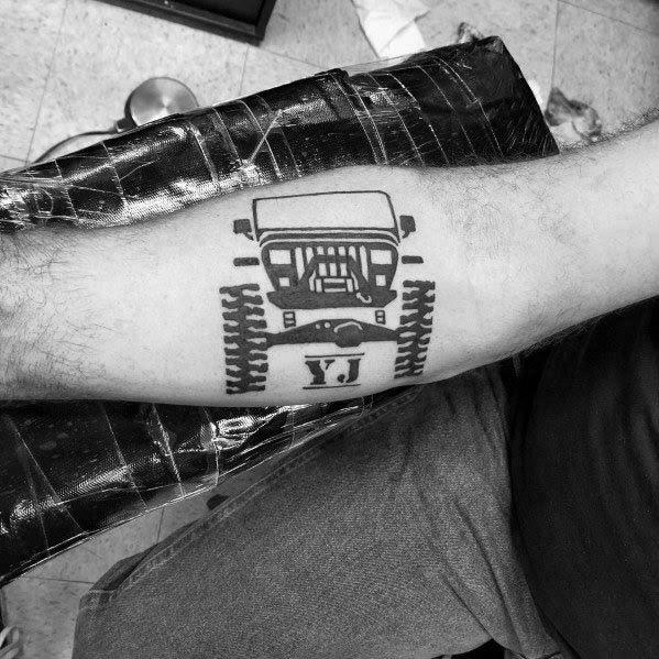 Tatuagem De Jipe Para Homens