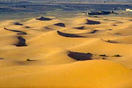 dunes de Merzouga sud du Maroc