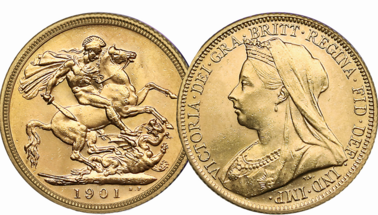 1901 sovereign