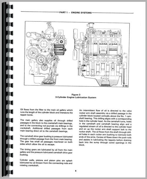 ford 445d tractor wiring harnes diagram