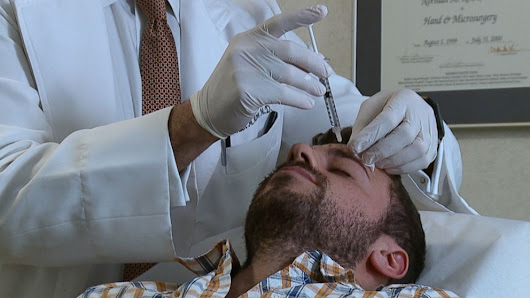 The Wall Street Wrinkle: It's How Men Like Their Botox