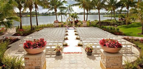 Florida Wedding Venues   Palm Beach Weddings   Golf Resort