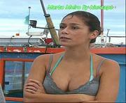 Marta Melro super sensual na novela Mar Paixão