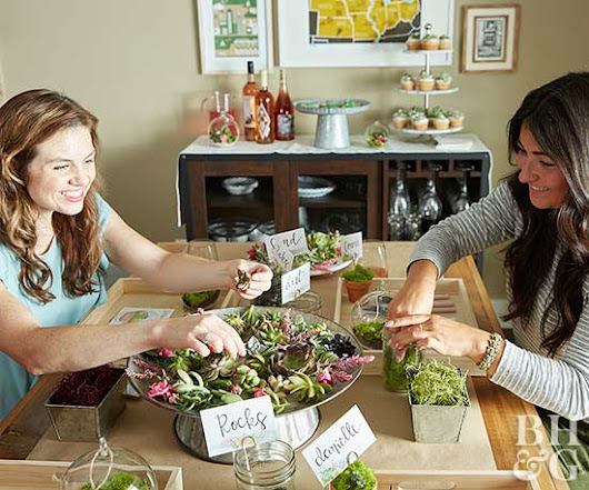Host a Stunning Terrarium-Making Party