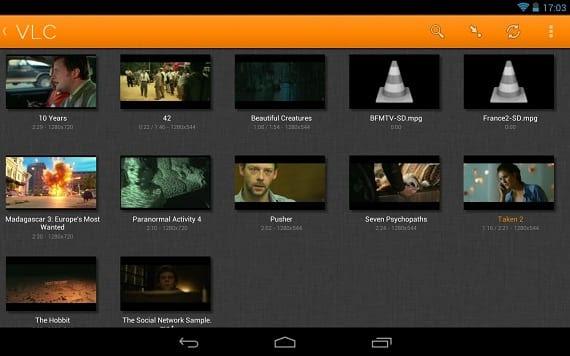 VLC Los mejores reproductores de música para Android