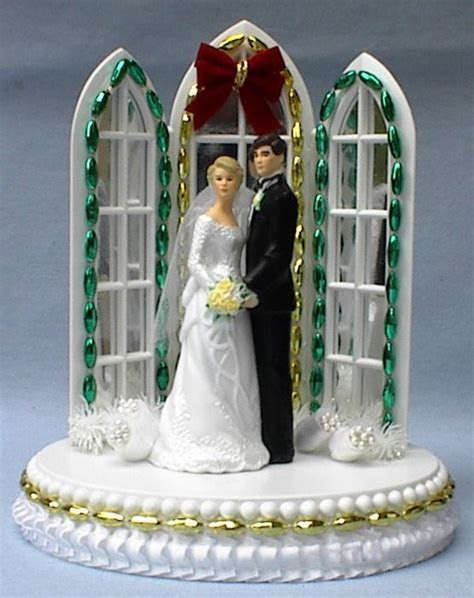 56 best images about Christmas Wedding Cake Toppers on