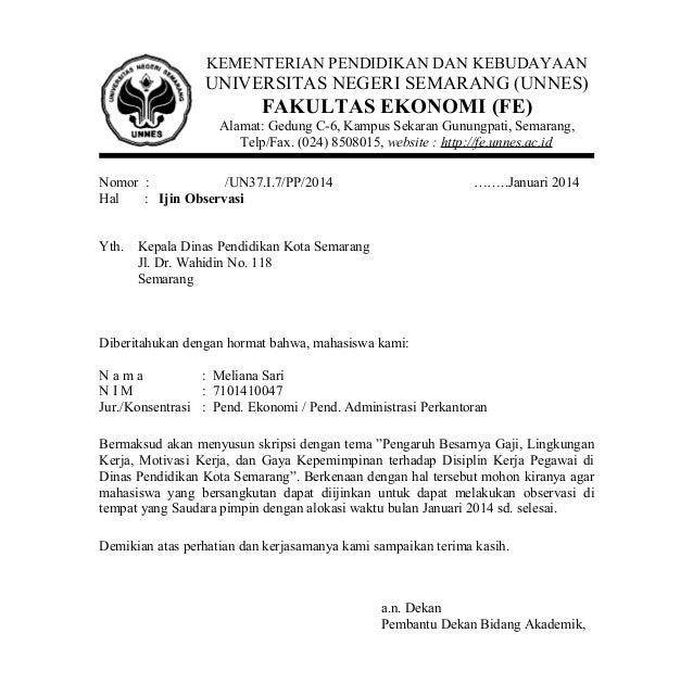 Contoh Surat Balasan Ijin Penelitian Skripsi Dari Perusahaan
