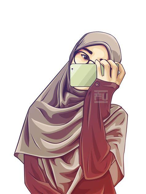 hijab vector atahmadfu hijab vector seni islamis